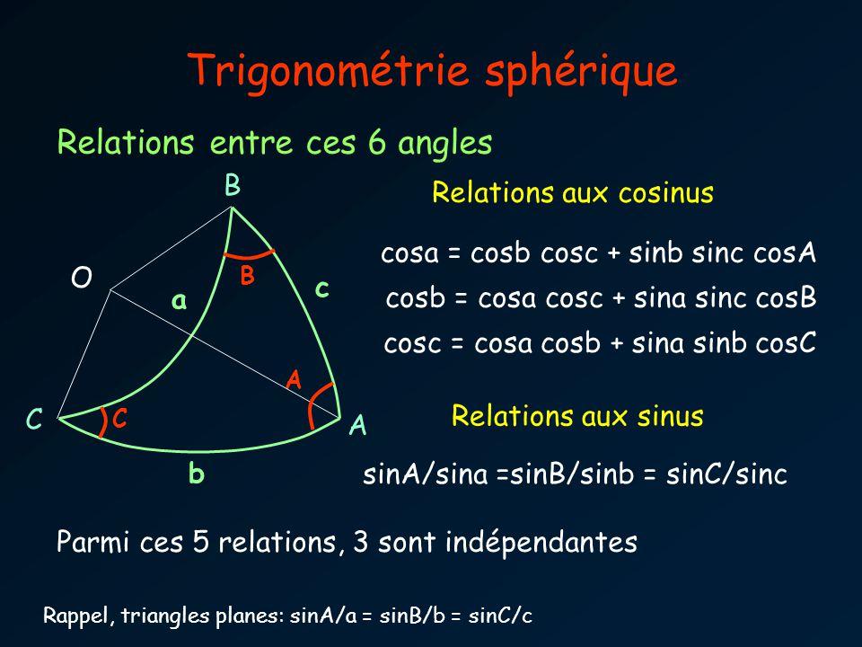 Trigonométrie sphérique