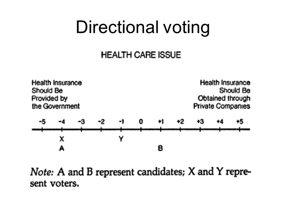 Directional voting