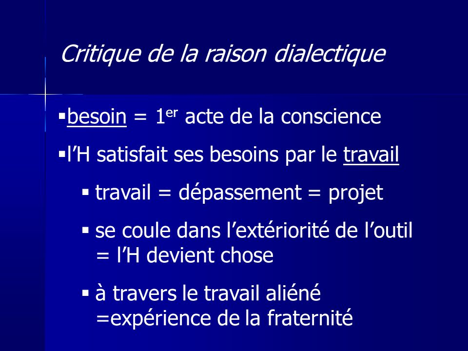 Critique de la raison dialectique