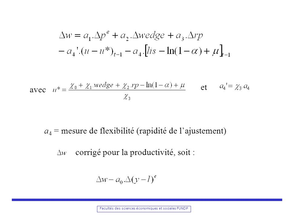 a4 = mesure de flexibilité (rapidité de l'ajustement)