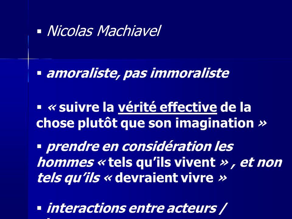 amoraliste, pas immoraliste