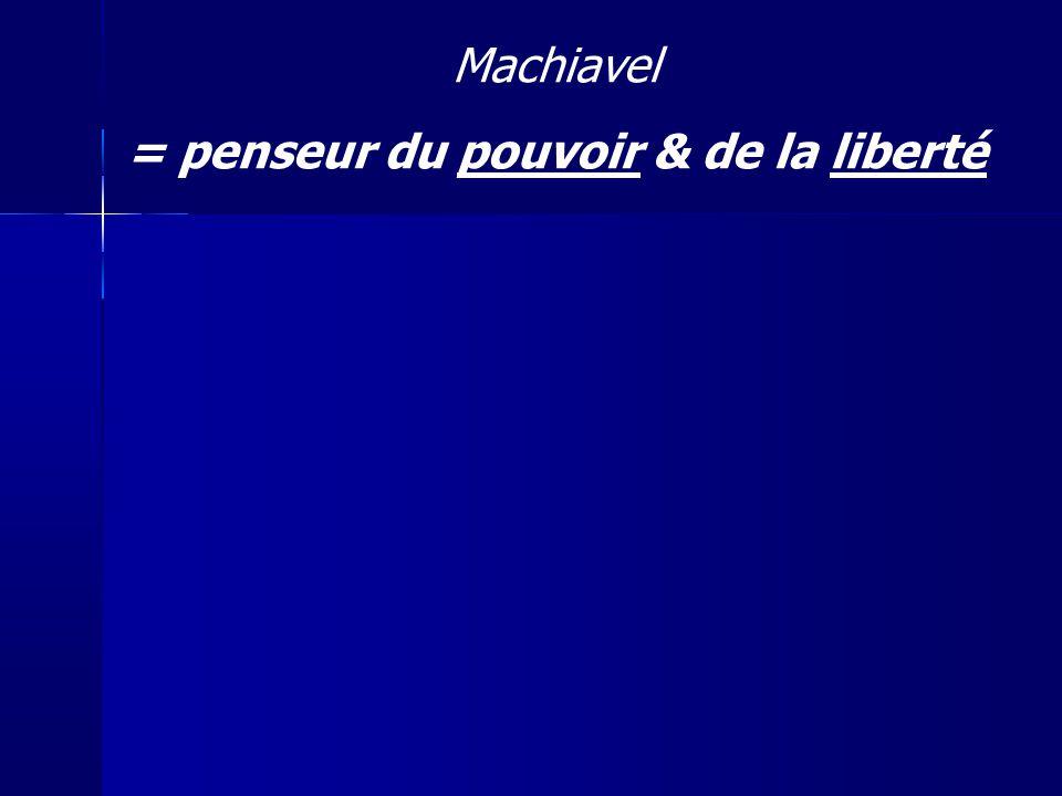 = penseur du pouvoir & de la liberté