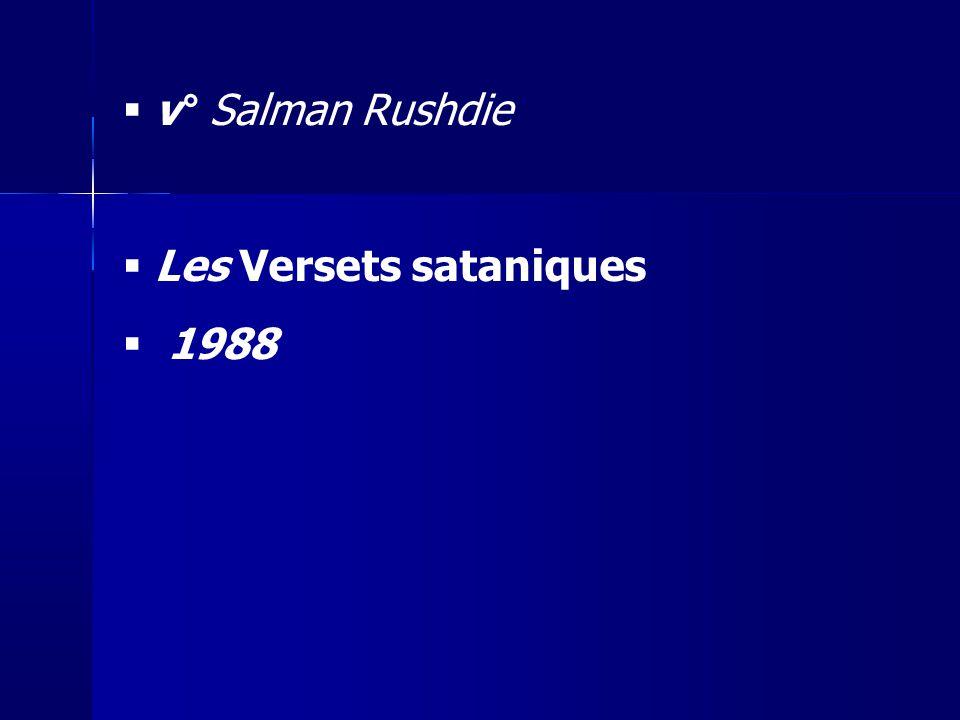 Les Versets sataniques 1988