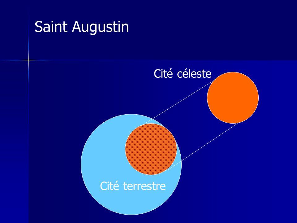 Saint Augustin Cité céleste Cité terrestre
