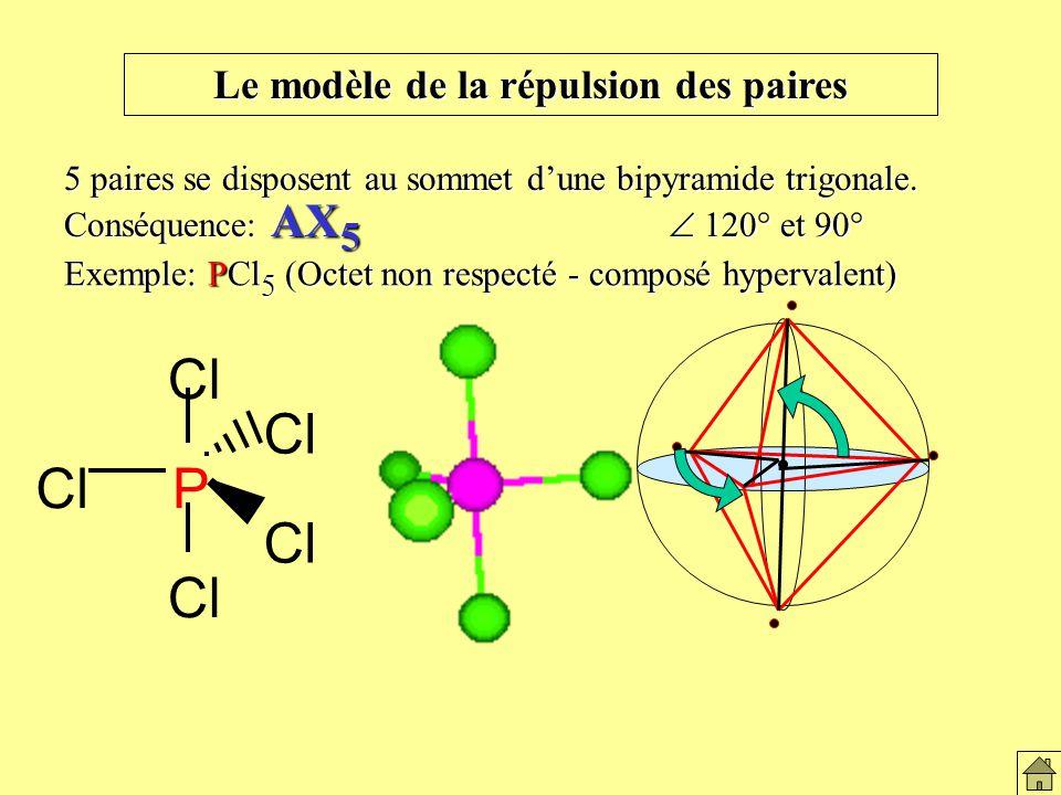 Bipyramide trigonale (5 paires)