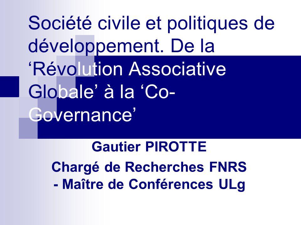 Gautier PIROTTE Chargé de Recherches FNRS - Maître de Conférences ULg