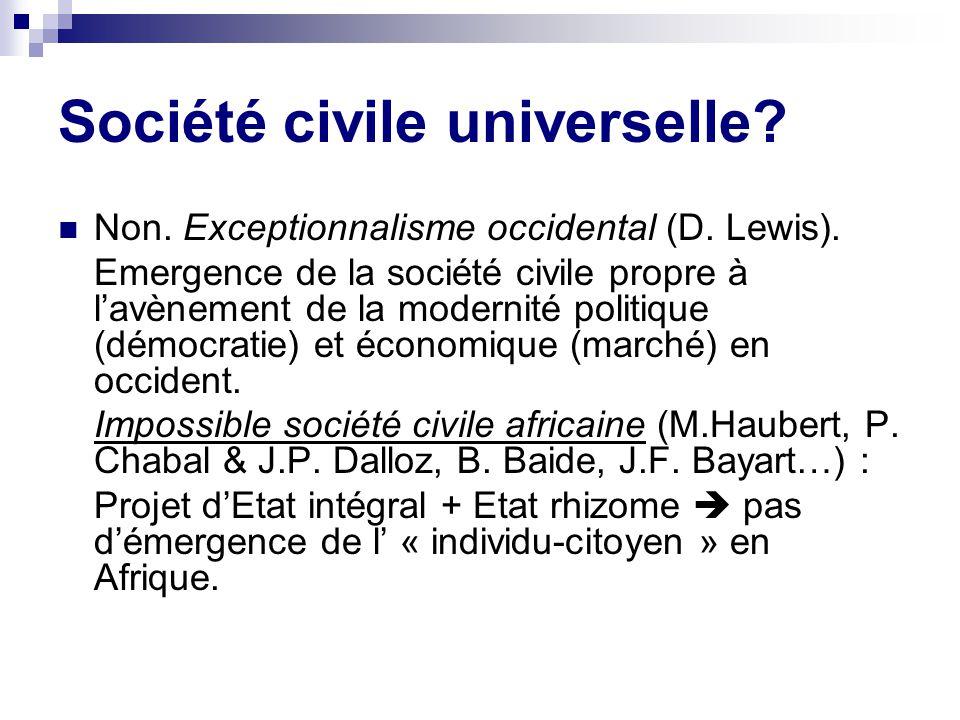 Société civile universelle