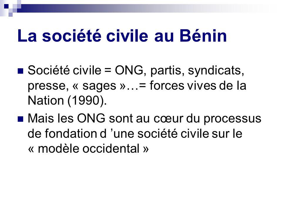 La société civile au Bénin