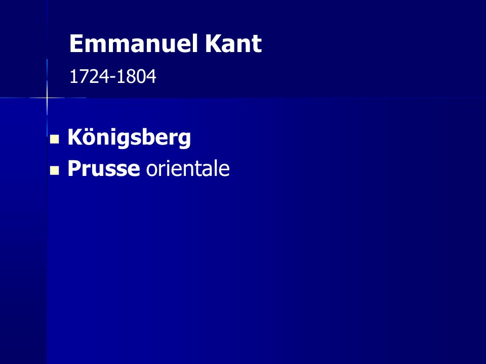 Emmanuel Kant 1724-1804 Königsberg Prusse orientale 12