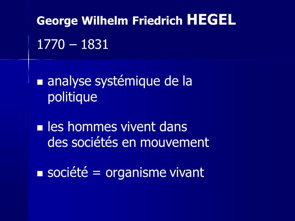 analyse systémique de la politique