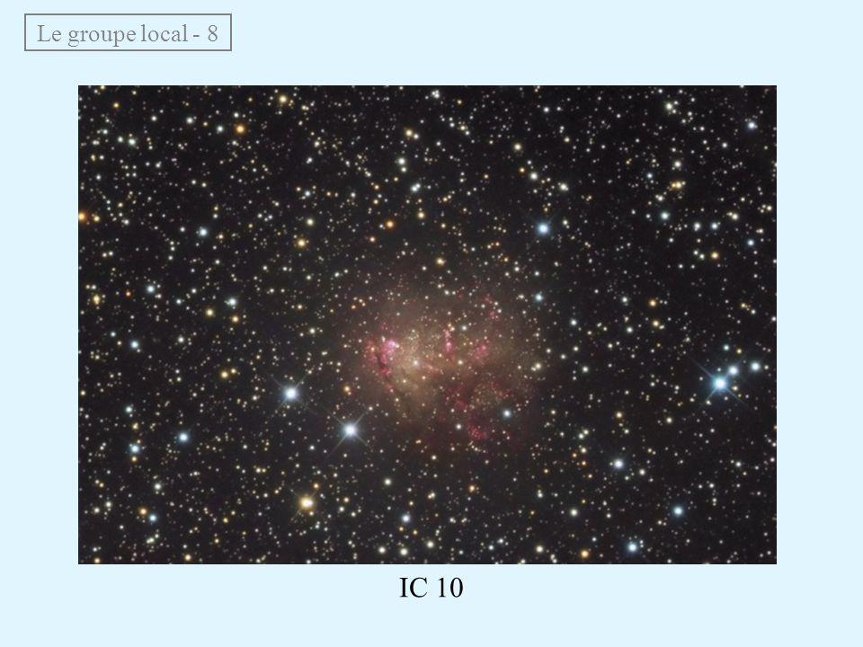 Le groupe local - 8 IC 10