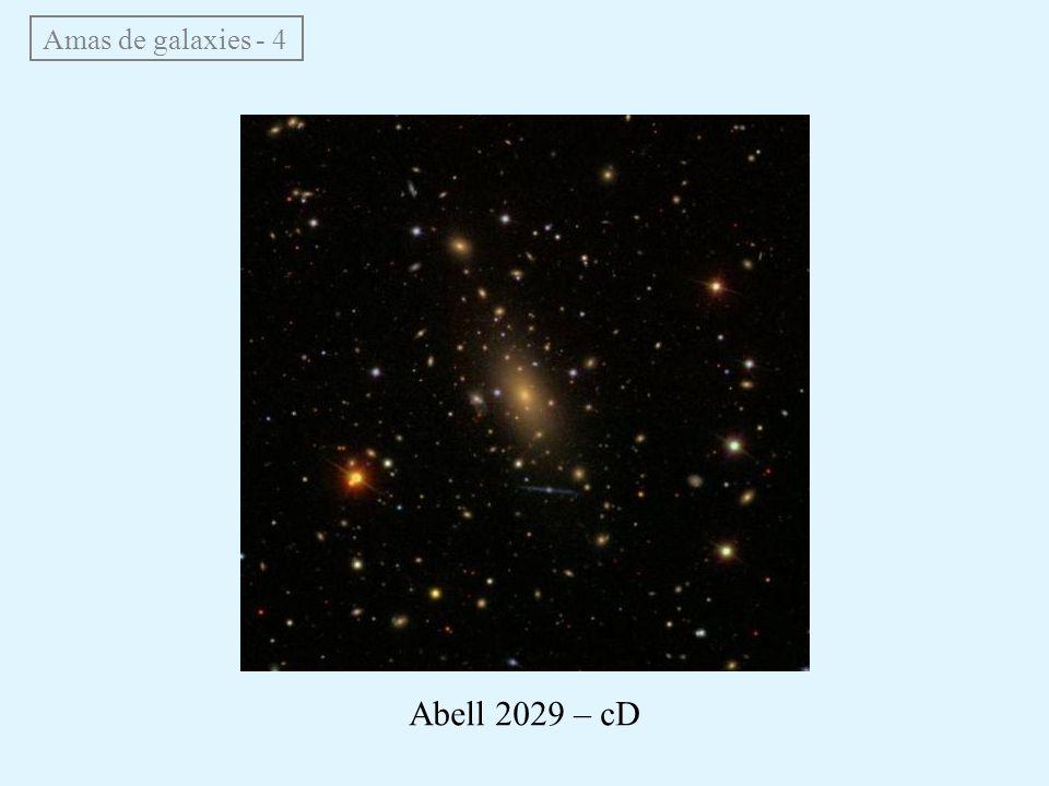 Amas de galaxies - 4 Abell 2029 – cD