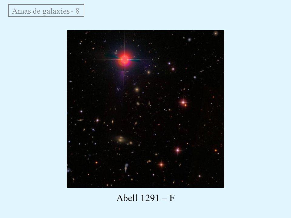 Amas de galaxies - 8 Abell 1291 – F