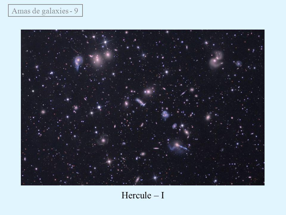 Amas de galaxies - 9 Hercule – I
