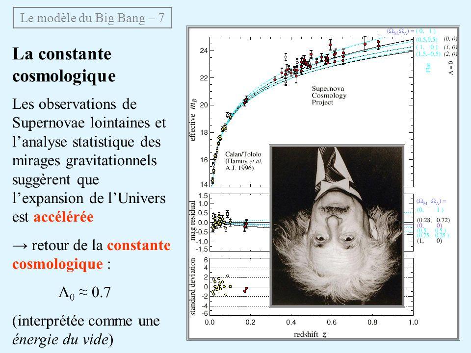 La constante cosmologique