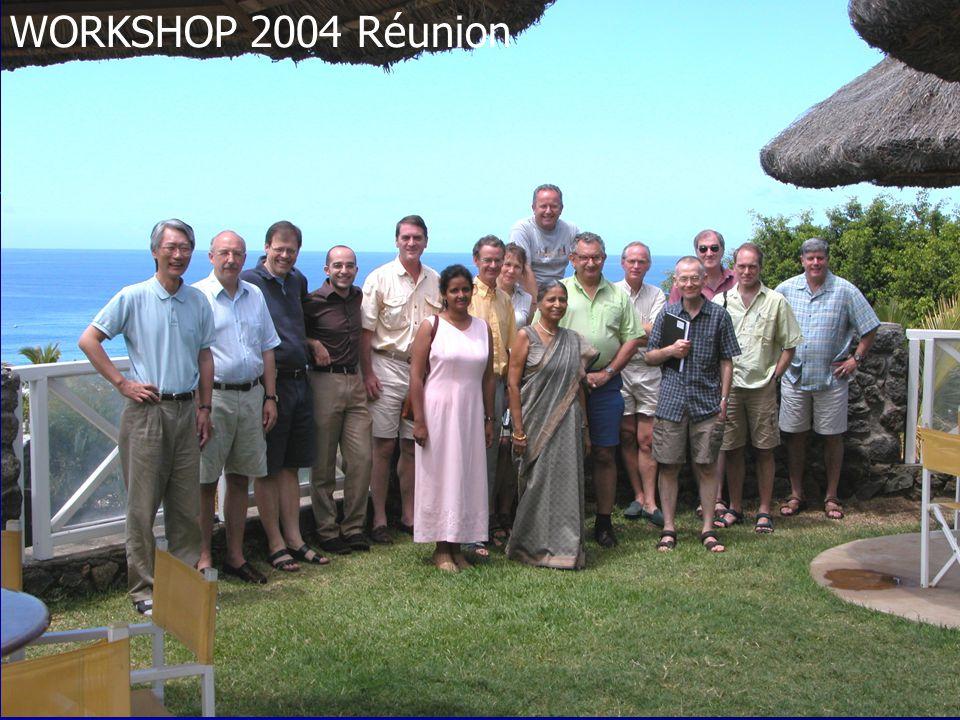 WORKSHOP 2004 Réunion