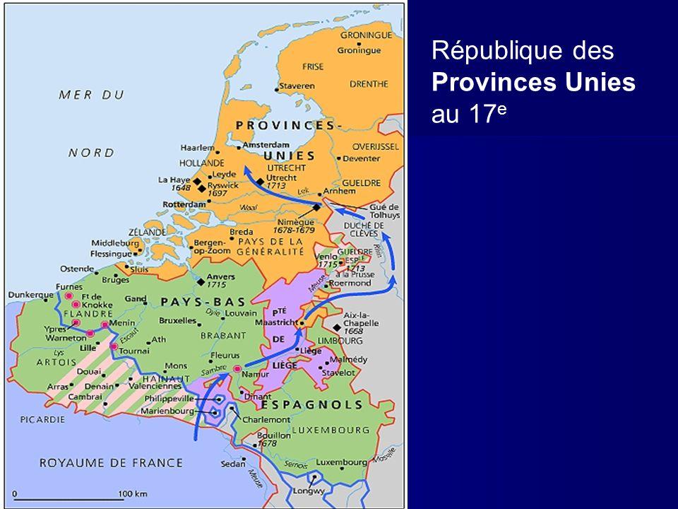 République des Provinces Unies au 17e