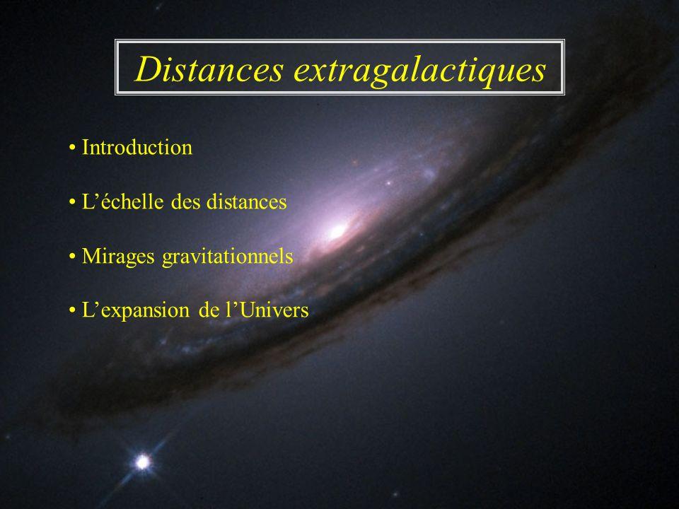 Distances extragalactiques