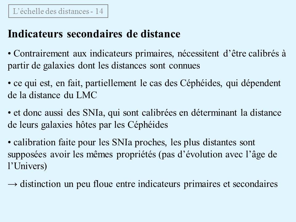 L'échelle des distances - 14