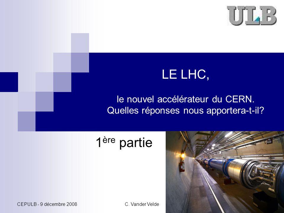 LE LHC, le nouvel accélérateur du CERN