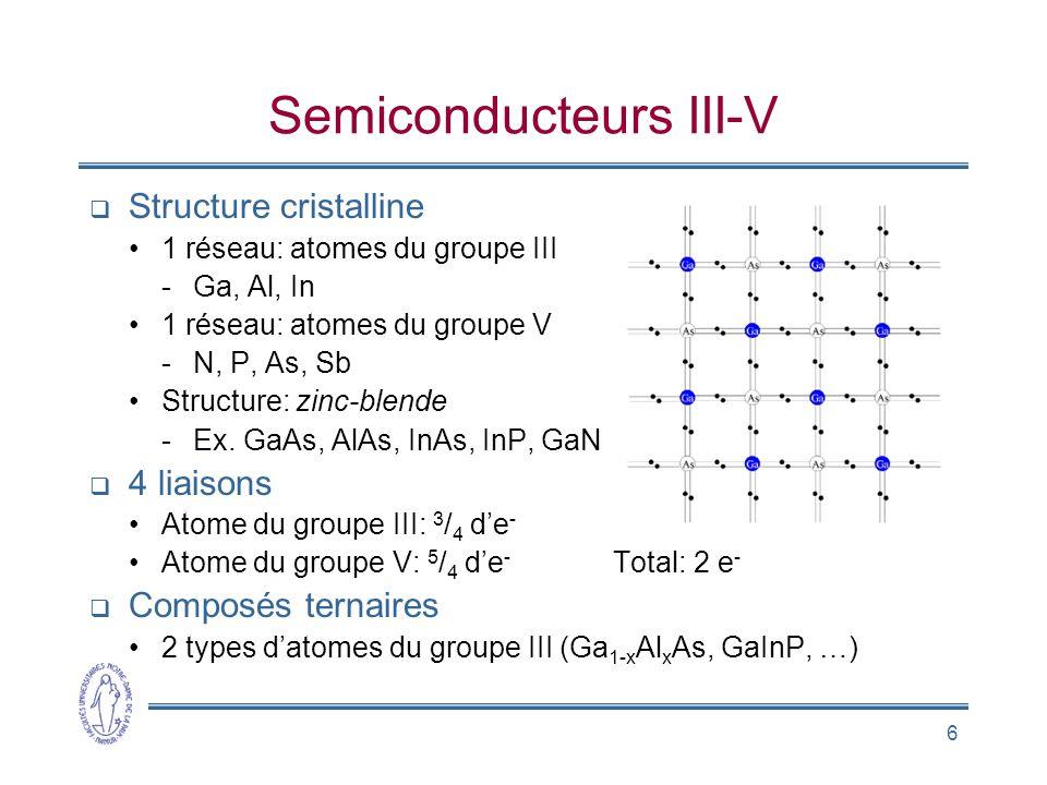 Semiconducteurs III-V