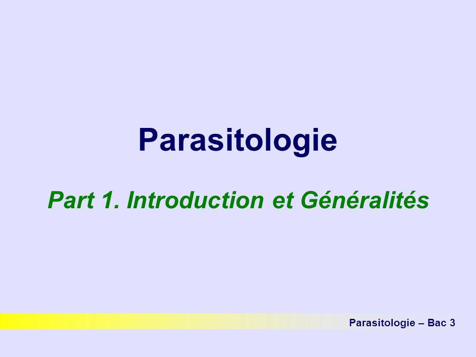 Part 1. Introduction et Généralités