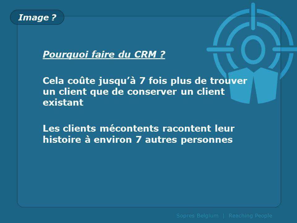 Image Pourquoi faire du CRM Cela coûte jusqu'à 7 fois plus de trouver un client que de conserver un client existant.