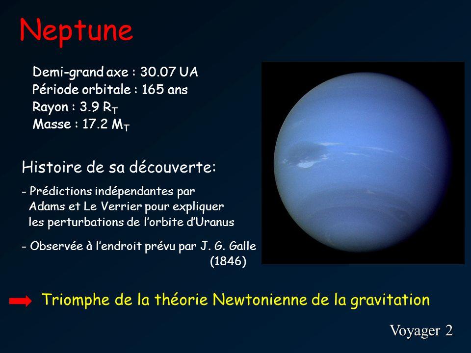 Neptune Histoire de sa découverte: