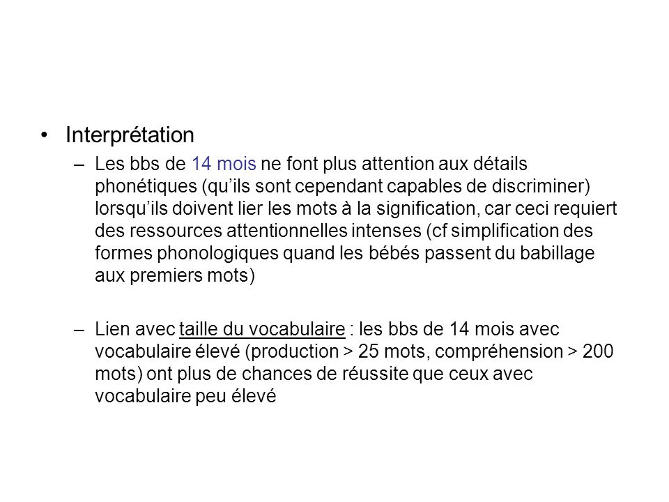 Interprétation