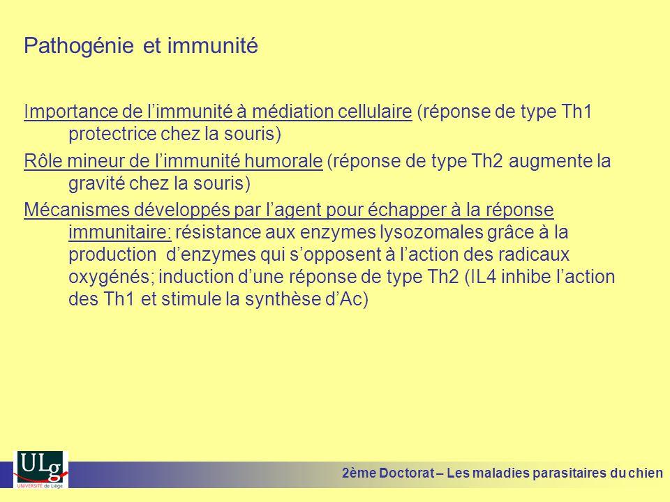 Pathogénie et immunité