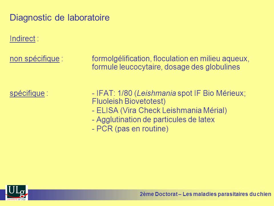 Diagnostic de laboratoire