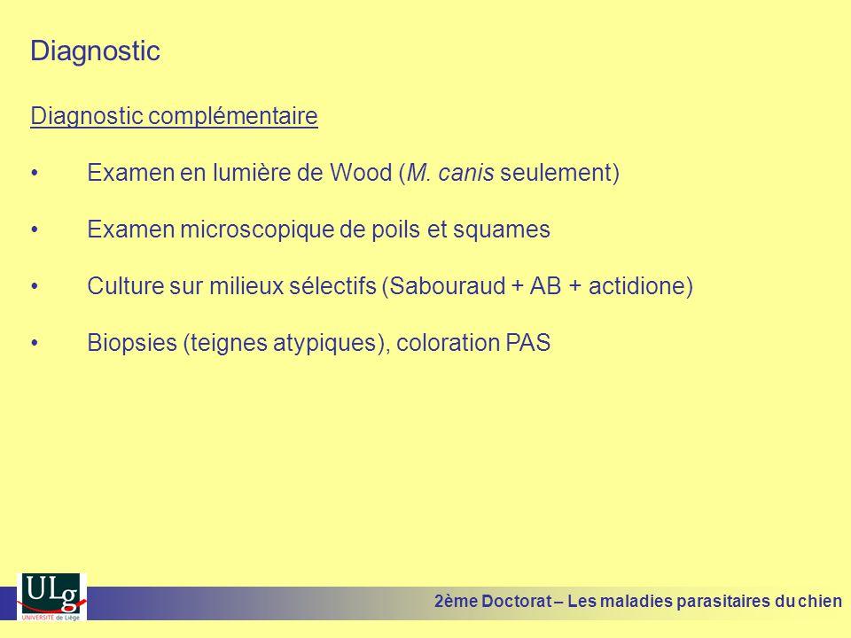 Diagnostic Diagnostic complémentaire