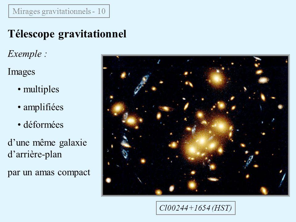 Mirages gravitationnels - 10