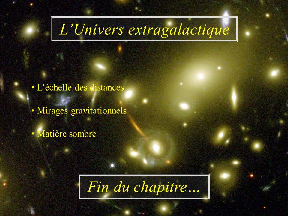 L'Univers extragalactique