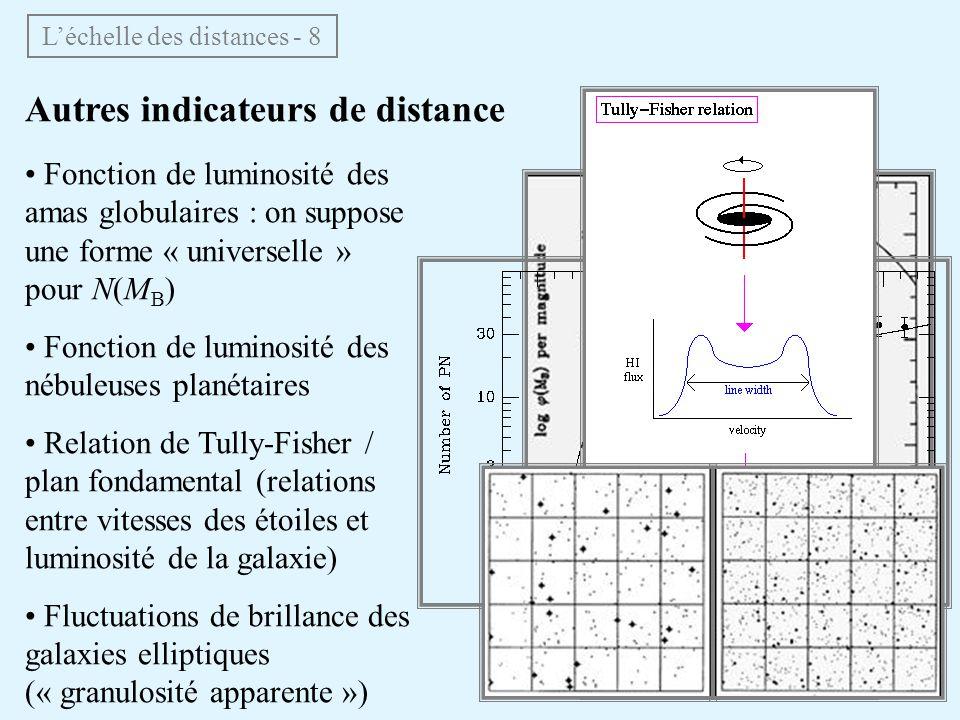 L'échelle des distances - 8