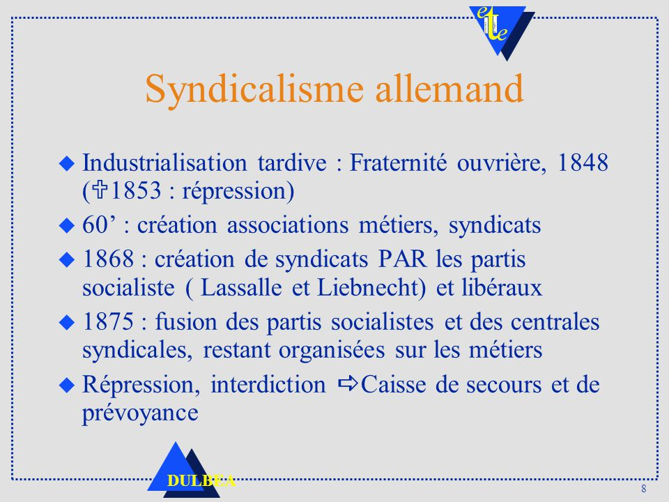 Syndicalisme allemand