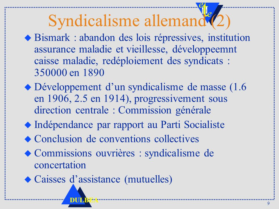 Syndicalisme allemand (2)