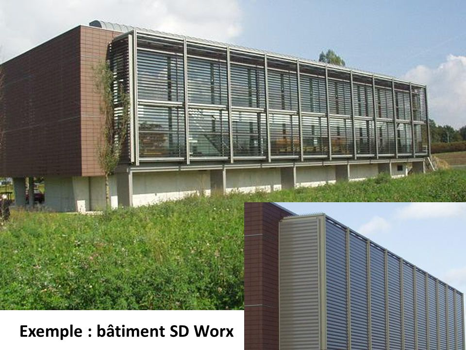 Exemple : bâtiment SD Worx
