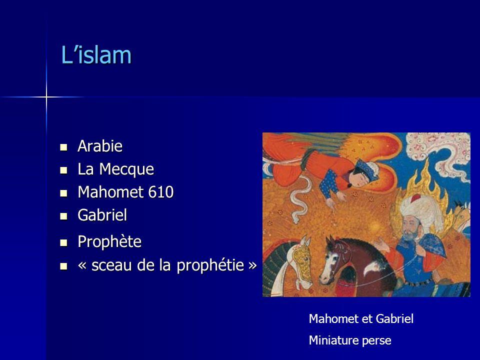 L'islam Arabie La Mecque Mahomet 610 Gabriel Prophète