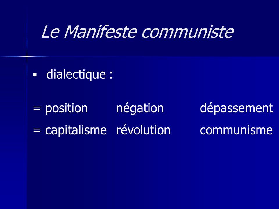 Le Manifeste communiste