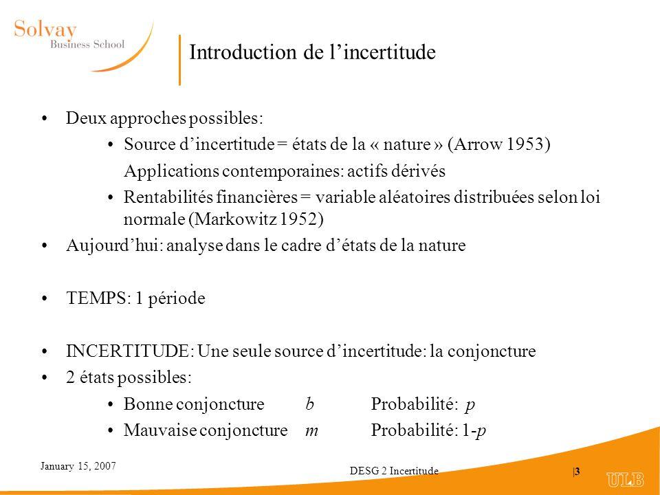 Introduction de l'incertitude