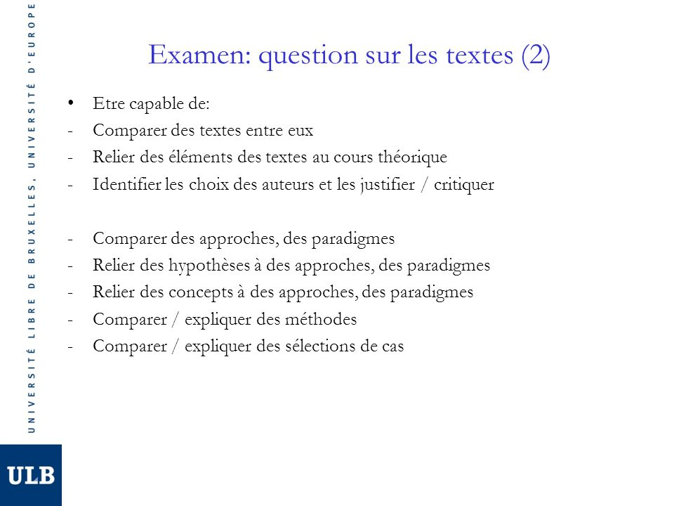 Examen: question sur les textes (2)