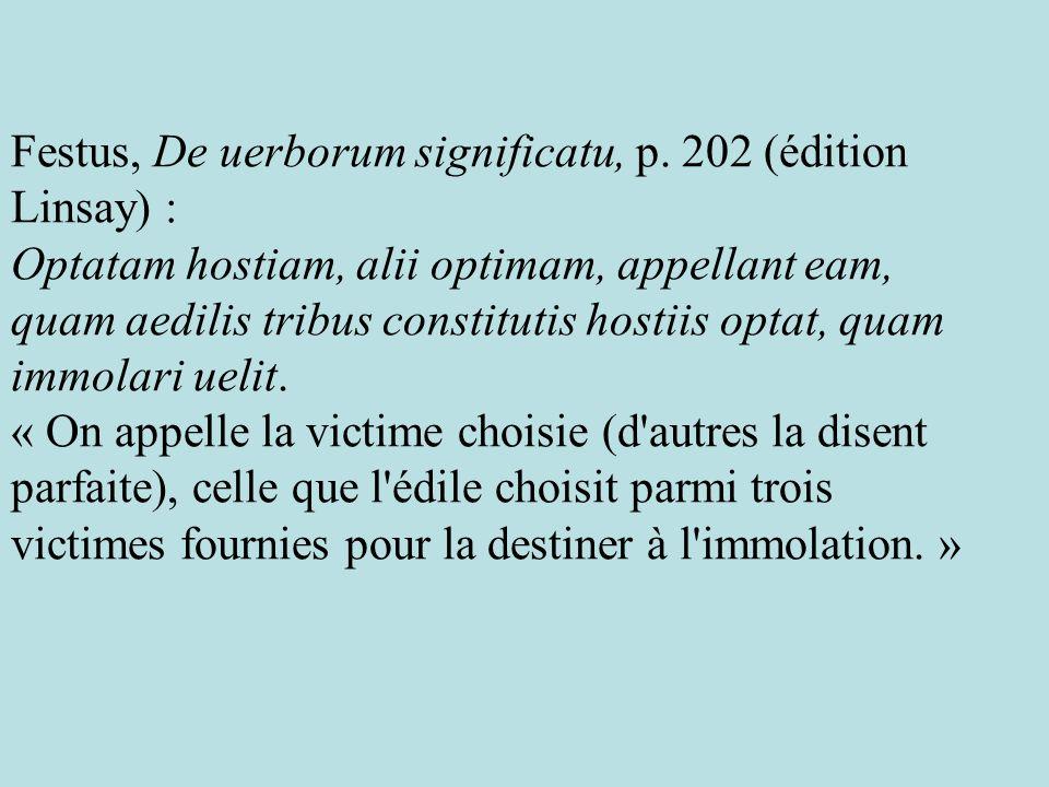 Festus, De uerborum significatu, p