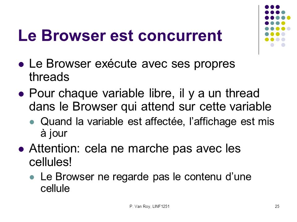 Le Browser est concurrent