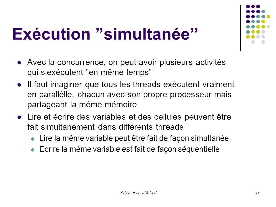 Exécution simultanée