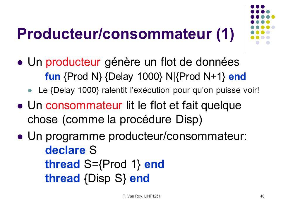Producteur/consommateur (1)