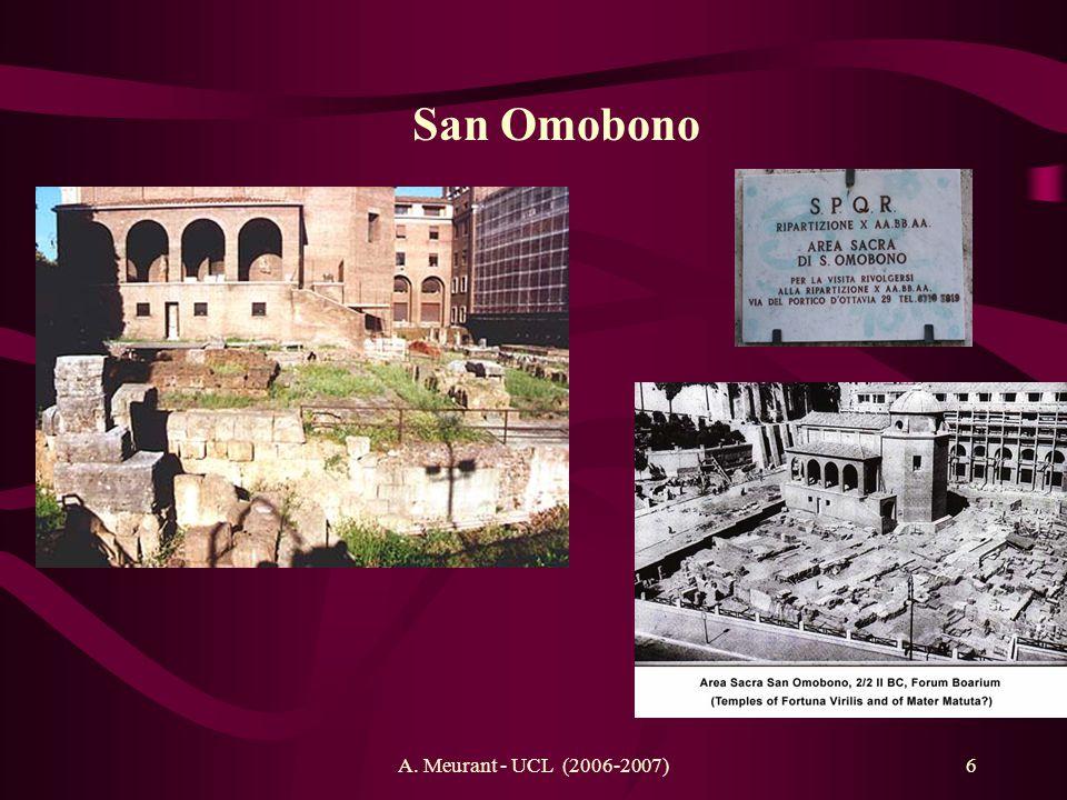 San Omobono A. Meurant - UCL (2006-2007)