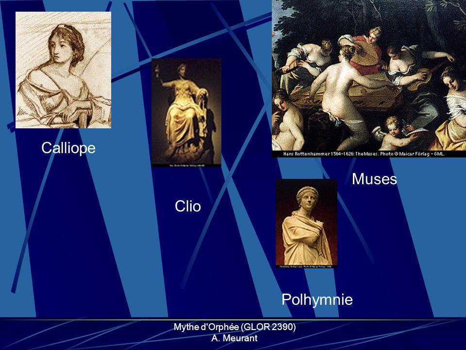 Mythe d Orphée (GLOR 2390) A. Meurant