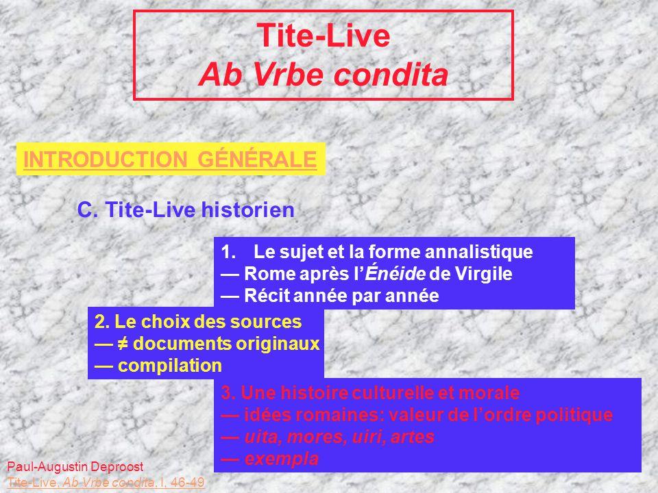 Tite-Live Ab Vrbe condita