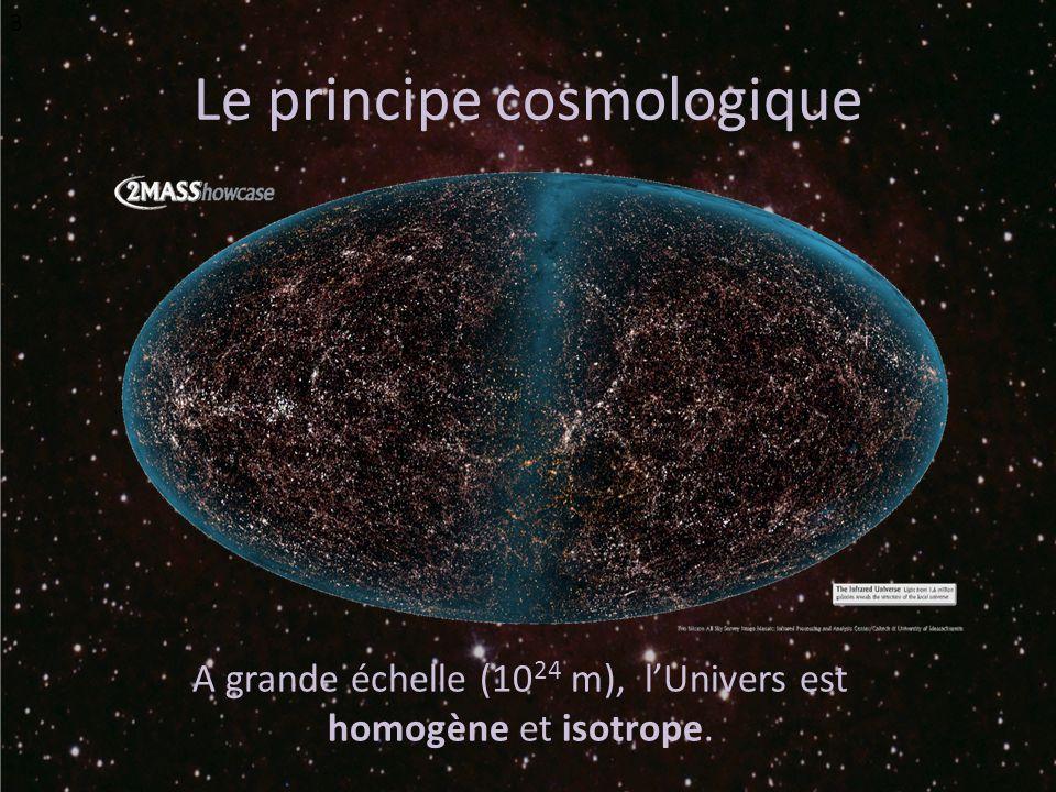 Le principe cosmologique